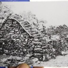 Cine: POSTAL SADLY THIS ALL THET REMAINS OF THE THORNTON COTTAGE WHITE O MORN LOCATED AT MAAM 13 MILES FRO. Lote 194884810