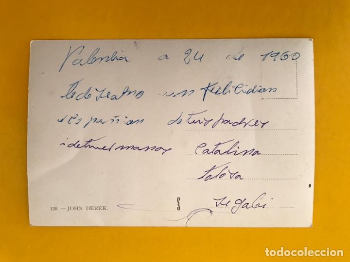 Cine: CINE Actores y Actrices Foto postal No.126 JOHN DEREK. Actor Estadounidense. (h.1960?) - Foto 2 - 194885676
