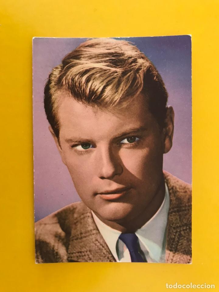 CINE ACTORES Y ACTRICES FOTO POSTAL NO.311 TROY DONAHUE ACTOR. ESTADOUNIDENSE (A.1964) (Cine - Fotos y Postales de Actores y Actrices)