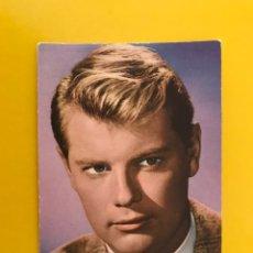 Cine: CINE ACTORES Y ACTRICES FOTO POSTAL NO.311 TROY DONAHUE ACTOR. ESTADOUNIDENSE (A.1964). Lote 194887415