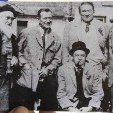 Cine: POSTAL SOME OF THE CAST OF THE QUIT MAN LEFT TO RIGHT:FRANCIS FORD JOHN WAYNE VICTOR MCLAGLAN JOHN F. Lote 194887666