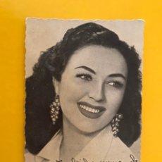 Cine: CINE ACTORES Y ACTRICES FOTO POSTAL QUETA CLAVER ACTRIZ ESPAÑOLA. Y NO TE OLVIDES NUNCA DE ANA MARÍA. Lote 194888146