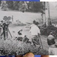 Cine: POSTAL CAMERA MEN AT WORK DURING THE MSKING OF THE QUIT MAN STARRING JOHN WAYNE AND MAUREEN O'HARA. Lote 194889151