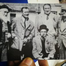 Cine: POSTAL SOME OF THE CAST OF THE QUIET MAN LED TO RIGHT FRANCIS FORD JOHN WAYNE VÍCTOR MCLAGLAN JOHN. Lote 194892710