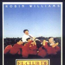 Cine: P-8610- EL CLUB DE LOS POETAS MUERTOS (DEAD POETS SOCIETY) (FICHA PELÍCULA) ROBIN WILLIAMS. Lote 194944407