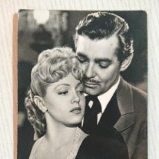 Cine: LANA TURNER Y CLARK GABLE ANTIGUA FOTO POSTAL. Lote 194967245