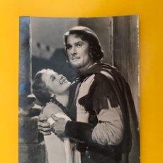 Cine: CINE ACTORES Y ACTRICES POSTAL NO.495, ERROL FLYNN Y OLIVIA DE HAVILLAND (A.1949). Lote 194970368