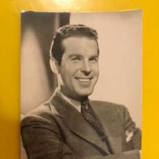 Cine: ACTORES Y ACTRICES. POSTAL: FRED MAC MURRAY NO.120, ACTOR ESTADOUNIDENSE (H.1950?). Lote 194978691