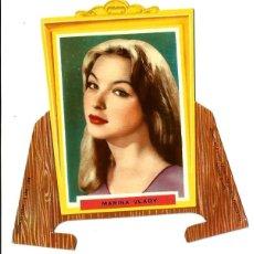 Cine: MARINA VLADY - TARJETA TROQUELADA CON PESTAÑAS - . Lote 195036745