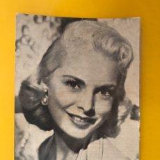 Cine: CINE ACTORES Y ACTRICES POSTAL NO.10, JANET LEIGH. ACTRIZ ESTADOUNIDENSE (H.1950?). Lote 195106771