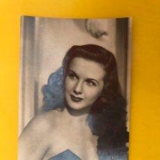 Cine: DIANA DURBIN. FOTO POSTAL NO.53, ACTRIZ CANADIENSE. EDITA: ED. SOBERANAS (A.1947) ESCRITA..... Lote 195110852