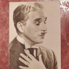 Cine: TARJETA POSTAL DE CHARLIE CHAPLIN. Lote 195133252