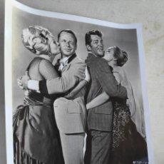 Cine: FRANK SINATRA FOTO ORIGINAL WARNER BROS TEA FOR 4 20 X25 CM. Lote 195137886