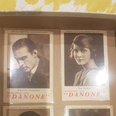 Cine: COLECCIÓN COMPLETA DE 20 CROMOS DANONE EN PERFECTO ESTADO. Lote 195149561