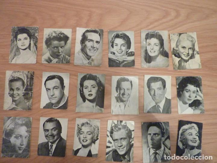 18 POSTALES FLORITA (Cine - Fotos y Postales de Actores y Actrices)