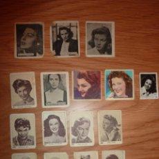 Cine: 16 CROMOS VARIOS ANTIGUOS. Lote 195157192