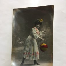 Cine: POSTAL ROMÁNTICA. PEPITA DURAN. CUPLETISTA. H. 1910?.. Lote 195203042