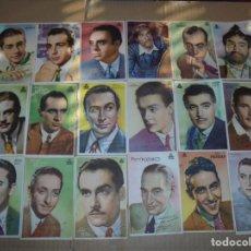 Cine: MAGNIFICOS 76 FOTOCROMOS DE ARTISTAS DE CINE TODOS DE CIFESA. Lote 195206972