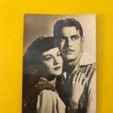 Cine: CINE. ACTORES Y ACTRICES. POSTAL NO.25, MARÍA MONTEZ Y JON HALL (A.1941) ESCRITA... Lote 195236982