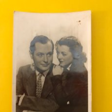 Cine: CINE. ACTORES Y ACTRICES. POSTAL ROBERT MONTGOMERY - JANET GAYNOR (A.1946) ESCRITA... Lote 195237286