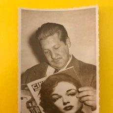 Cine: CINE. ACTORES Y ACTRICES. POSTAL FIRMADA FERNANDO SANCHO. ACTOR ESPAÑOL (H.1950?). Lote 195238755