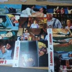 Cine: CREEPSHOW 2 STEPHEN KING SET COMPLETO 12 FOTOCROMOS ORIGINAL ESTRENO. Lote 195300555