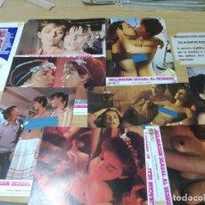 Cine: INCLINACION SEXUAL AL DESNUDO / IGNACIO F IQUINO / JUEGO ORIGINAL 10 FOTOCROMOS ESTRENO. Lote 195301095