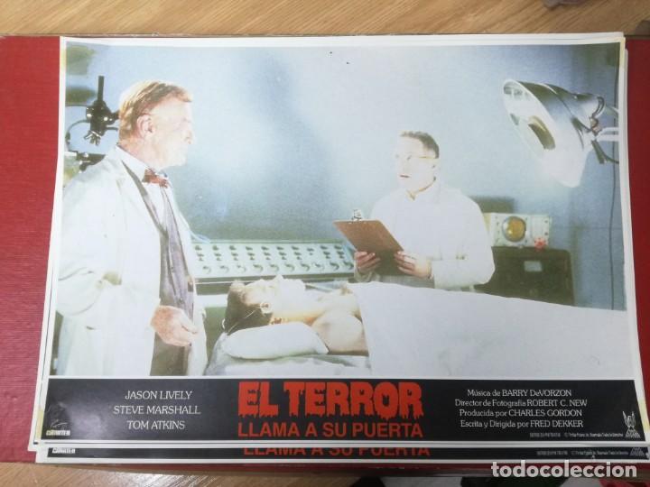 Cine: LOTE COMPLETO DE 12 FOTOCROMOS AFICHES EL TERROR LLAMA A SU PUERTA. JASON LIVELY TOM - Foto 11 - 195369043