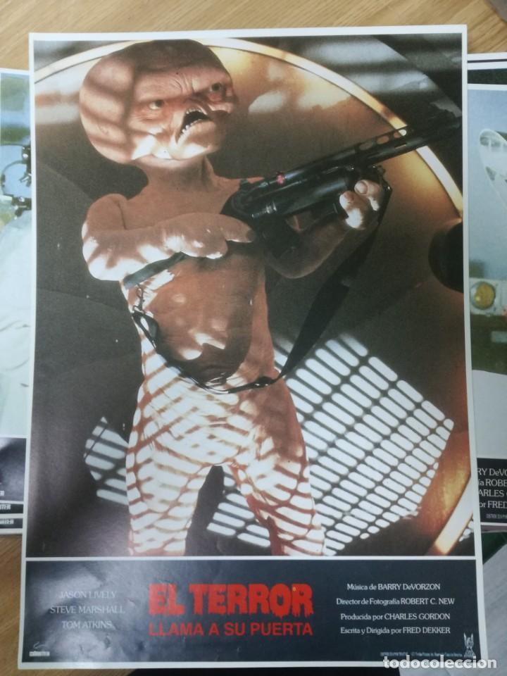 Cine: LOTE COMPLETO DE 12 FOTOCROMOS AFICHES EL TERROR LLAMA A SU PUERTA. JASON LIVELY TOM - Foto 13 - 195369043