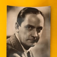 Cine: CINE. ACTORES Y ACTRICES. POSTAL NO.350. FREDRIC MARCH. ACTOR ESTADOUNIDENSE EDITA: SOBERANAS. Lote 195426441