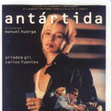 Cine: P-8611- ANTARTIDA (FICHA PELÍCULA) ARIADNA GIL - CARLOS FUENTES - JOSÉ MANUEL LORENZO. Lote 195495491