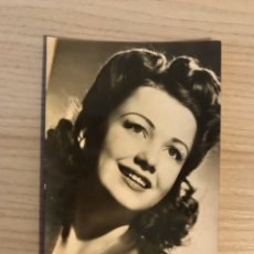 Cine: CINE. ACTORES Y ACTRICES. POSTAL NO.186, ANNE BAXTER. ACTRIZ ESTADOUNIDENSE, (A.1955). Lote 195504512