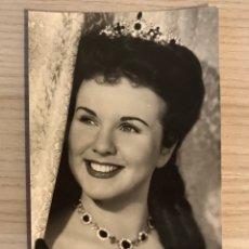 Cine: DIANA DURBIN. FOTO POSTAL NO.4140, ACTRIZ CANADIENSE. ARCHIVO BERMEJO (H.1950?) S/C.. Lote 195505217