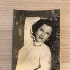 Cine: CINE. MARIA MONTEZ. FOTO POSTAL NO.1047, ACTRIZ DOMINICANA. (H.1950?) SIN CIRCULAR.... Lote 195506192