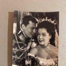 Cine: ACTORES. POSTAL ROMY SCHNEIDER Y KARLHEINZ BOHM. (H.1950?) ARCHIVO BERMEJO NO CIRCULADA... Lote 195511875