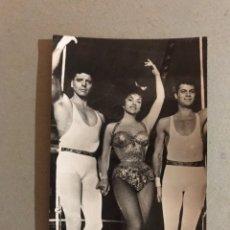 Cine: CINE, GINA LOLLOBRIGIDA, BURT LANCASTER ANTHONY CURTÍS. EDITA: FOTO BERMEJO. Lote 195512168