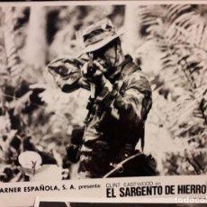 Cine: EL SARGENTO DE HIERRO / CLINT EASTWOOD / 1986 FOTO ESCENA 24X18 CMS . Lote 195520842
