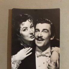 Cine: CINE, POSTAL NO.98, GREER GARSON Y WALTER PIDGEON. IBIS (A.1950) ESCRITA.... Lote 195524157