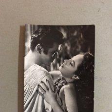 Cine: CINE, ACTORES Y ACTRICES. POSTAL NO.3438, T. BEY Y M. OBERÓN. ARCHIVO BERMEJO (H.1950?). Lote 195524178