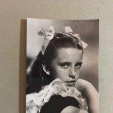 Cine: CINE ACTORES Y ACTRICES POSTAL NO.1273. MARGARET O'BRIEN. ACTRIZ INFANTIL, (H.1950?). Lote 195524248