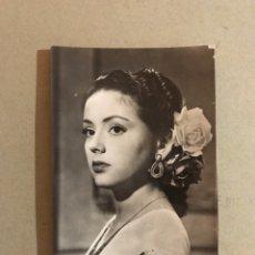 Cine: CINE. ACTORES Y ACTRICES. POSTAL NO.700, ELENA ESPEJO, ACTRIZ ESPAÑOLA. EMISORA FILMS, (H.1950?). Lote 195526272