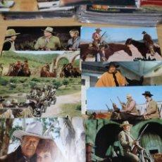 Cine: EL GRAN JACK, 8 FOTOCROMOS, JOHN WAYNE. Lote 195546213