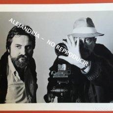 Cine: FOTOGRAFÍA NÉSTOR ALMENDROS Y JORGE ULLA - DOCUMENTAL NADIE ESCUCHABA - 25,5X20,5CM. Lote 195765015