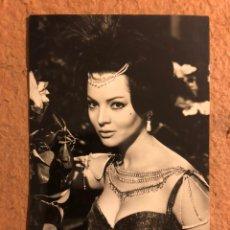 Cine: SARA MONTIEL EN EL FILM LA REINA DEL CHANTECLER. FOTOGRAFÍA EN B/N (1963). ARCHIVO BERMEJO N° 7680.. Lote 195787390