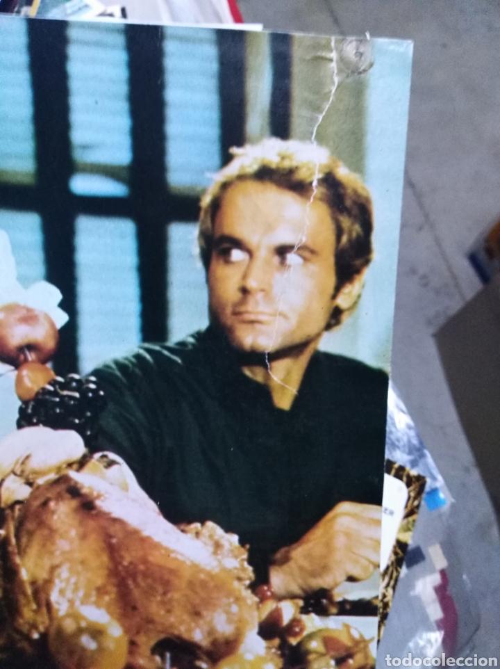 Cine: DOS MISIONEROS TERENCE HILL BUD SPENCER 9 FOTOCROMOS ORIGINALES Q - Foto 2 - 196218216