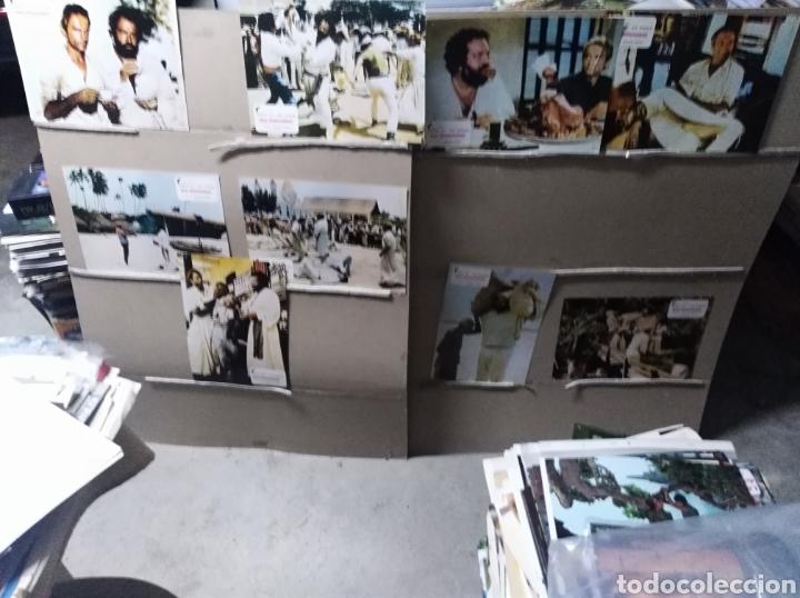 DOS MISIONEROS TERENCE HILL BUD SPENCER 9 FOTOCROMOS ORIGINALES Q (Cine - Fotos, Fotocromos y Postales de Películas)