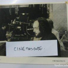 Cinéma: STANLEY KUBRICK - FOTO ORIGINAL B/N - FILMMAKER - EL REPLANDOR THE SHINING WARNER. Lote 196781712