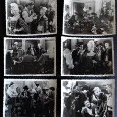 Cine: 6 FOTOGRAFÍAS DE LA PELÍCULA CON CORAZÓN Y ESPADA DE 11 X 8 CM. AÑO 1946 DE DE EDICI BARCELONA . Lote 196797845