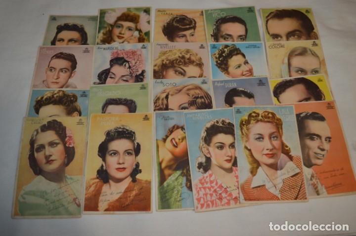 21 FOTOCROMOS VARIADOS / PROGRAMAS DE MANO -- CIFESA -- ORIGINALES / ANTIGUOS - ¡MIRA! (Cine - Fotos, Fotocromos y Postales de Películas)