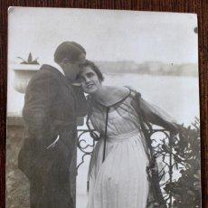 Cine: CINE MUDO. EL HILO DE LA VIDA. POSTAL FOTOGRÁFICA CIRCULADA 1918. Lote 198202080